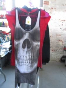 If it has a skull on it, it's Punk fashion. Yours for $40 at the Punk Rock Flea Market.