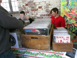 Black Flag was everywhere at the Punk Rock Flea Market. As was Billy Idol.