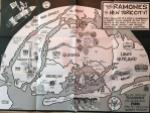 Ramones map by John Holmstrom (2016).