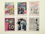 Ramones 'zines, classics in handwritten text, collage, and art even as late as 1996.