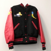 Johnny Ramone's custom Simpson's high school letter jacket.